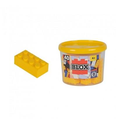 Blox bote con 40 bloques amarillos