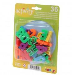 36 letras mayusculas magneticas