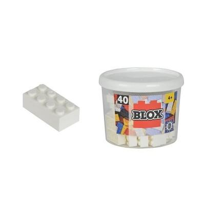 Blox bote con 40 bloque blancos
