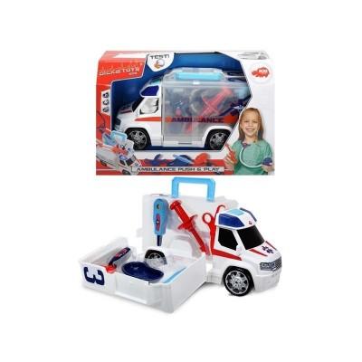 Ambulancia maletin con accesorios