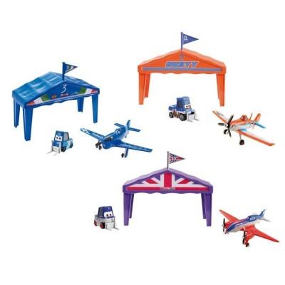 Aviones box-hangar de carreras planes