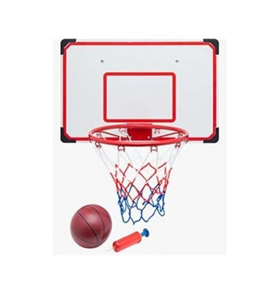 Tablero baloncesto 69 x 45,5 con pelota y inflador