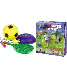 2 en 1 juego fútbol y tenis