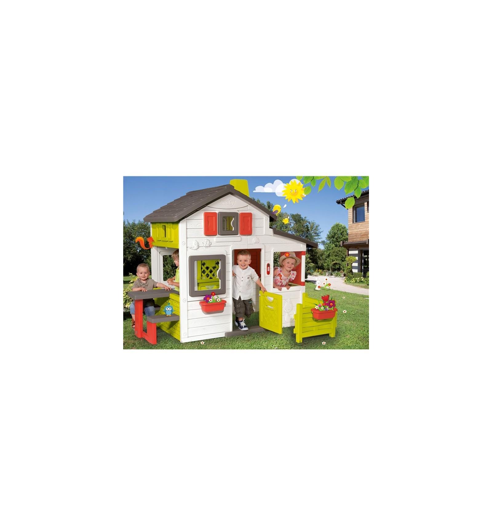 friends house smoby 1276 juguetes de aire libre todas las. Black Bedroom Furniture Sets. Home Design Ideas