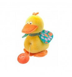 Carrillon pato musical de peluche chicco