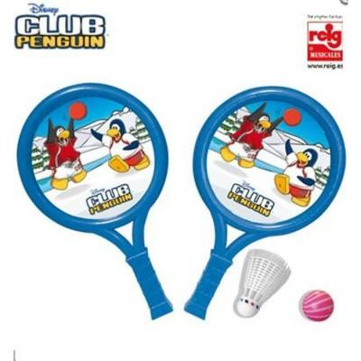 Raquetas club penguin