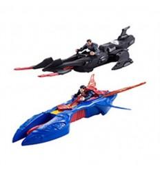 Superman- figura y vehículo surtidos (precio unid)