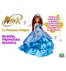 Winx moxie princesa magica
