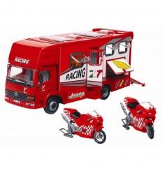 Trailer transportador de motos de carreras.incluye