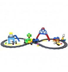 Construye tu estación de tren