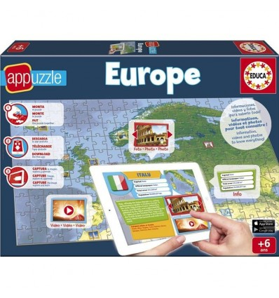 Puzzle 150 europa app