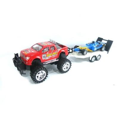 4x4 con remolque y vehículo