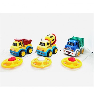 Camión construcción r/c infantil (precio unidad)
