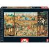 Puzzle 9.000 piezas el jardín de las delicias