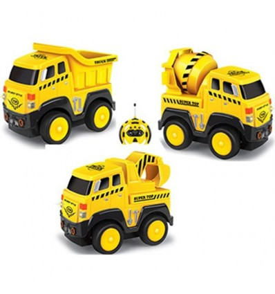 Camión de construcción r/c 3 surt (precio unidad)