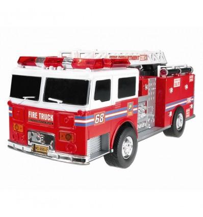 Camion de bomberos con sonido 34 cm friccion
