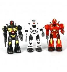 Robot 18cm luz, sonido, movimiento (precio unidad)