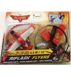 Planes red dusty