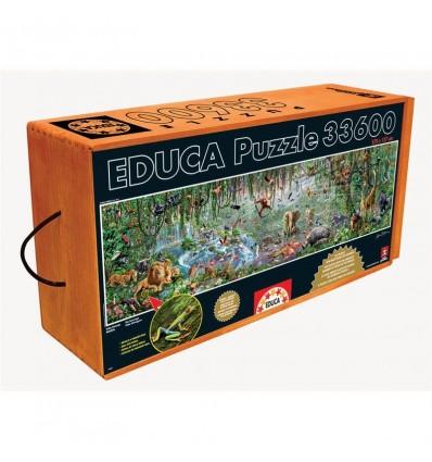 Puzzle 33.600 piezas vida salvaje