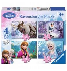 4 puzzle frozen 12-16-20-24
