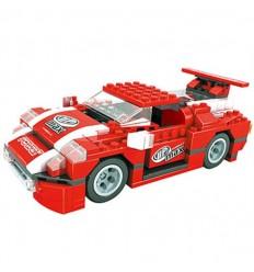 Racing car rojo 328 piezas