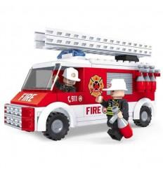 Camion de bomberos 150 piezas
