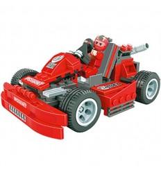 Kart rojo 216 piezas
