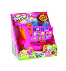 Shopkins - carrito de compra + 2 shopkins