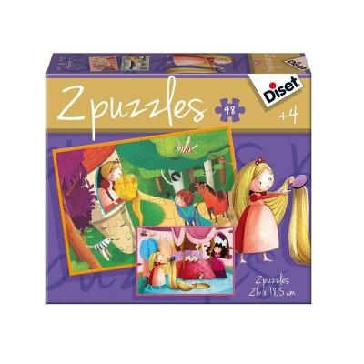 Puzzles cuento Rapunzel