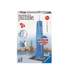 Puzzle 3d freedom tower