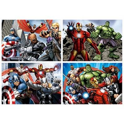 Puzzle progresivo 50-80-100-150 avengers