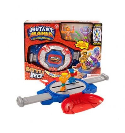 Mutant mania- cinturon de combate + 2 figuras