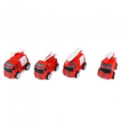 Camión bomberos metal fricción (precio unidad)