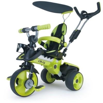 Triciclo city verde