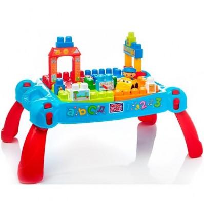 Mega blocks mesa preescolar 3 en 1