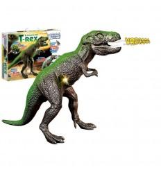 T-rex con luces y sonidos