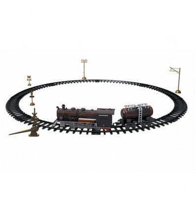 Circuito tren 225cm con luz y sonido