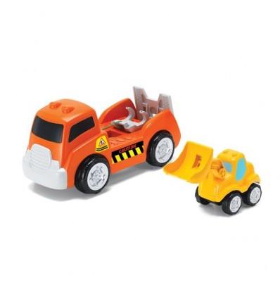 Camión con grúa infantil