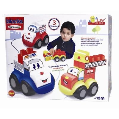 Bloques vehículos divertidos