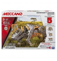Meccano 5 modelos safari