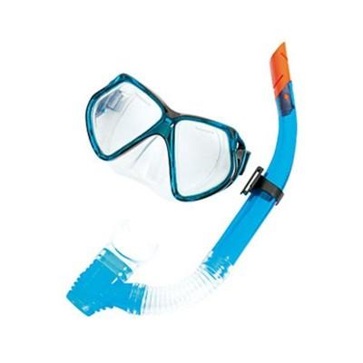 Set de máscara de silicona y snorkel, edad: +14 añ