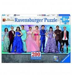 Puzzle 200pzs xxl descendants panorama