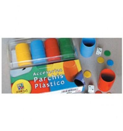 Caja plastico accesor.parchis