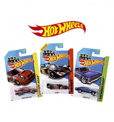 Coche hot wheels (precio de la unidad)