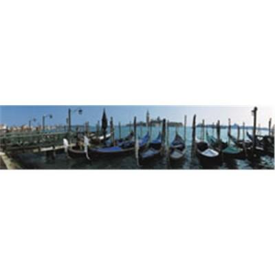 1500 panorama, gondolas en venecia