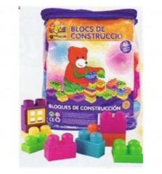 Bolsa con 46 bloques de construccion