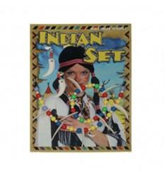 Conjunto de joyas indias