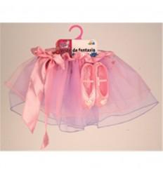 Vestido fantasia (conj.tutu y zapatillas)