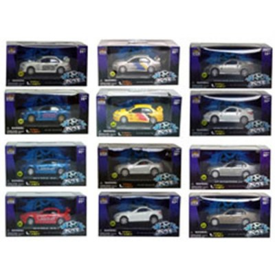 Coche tunning 1:50 con luces 2x1