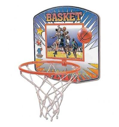Canasta baloncesto con aro y red